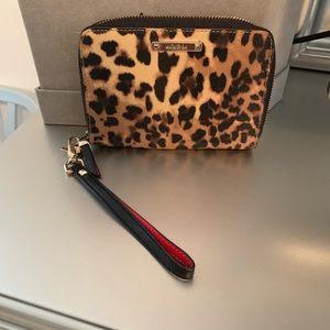 💥Stella & Dot Leopard Wristlet
